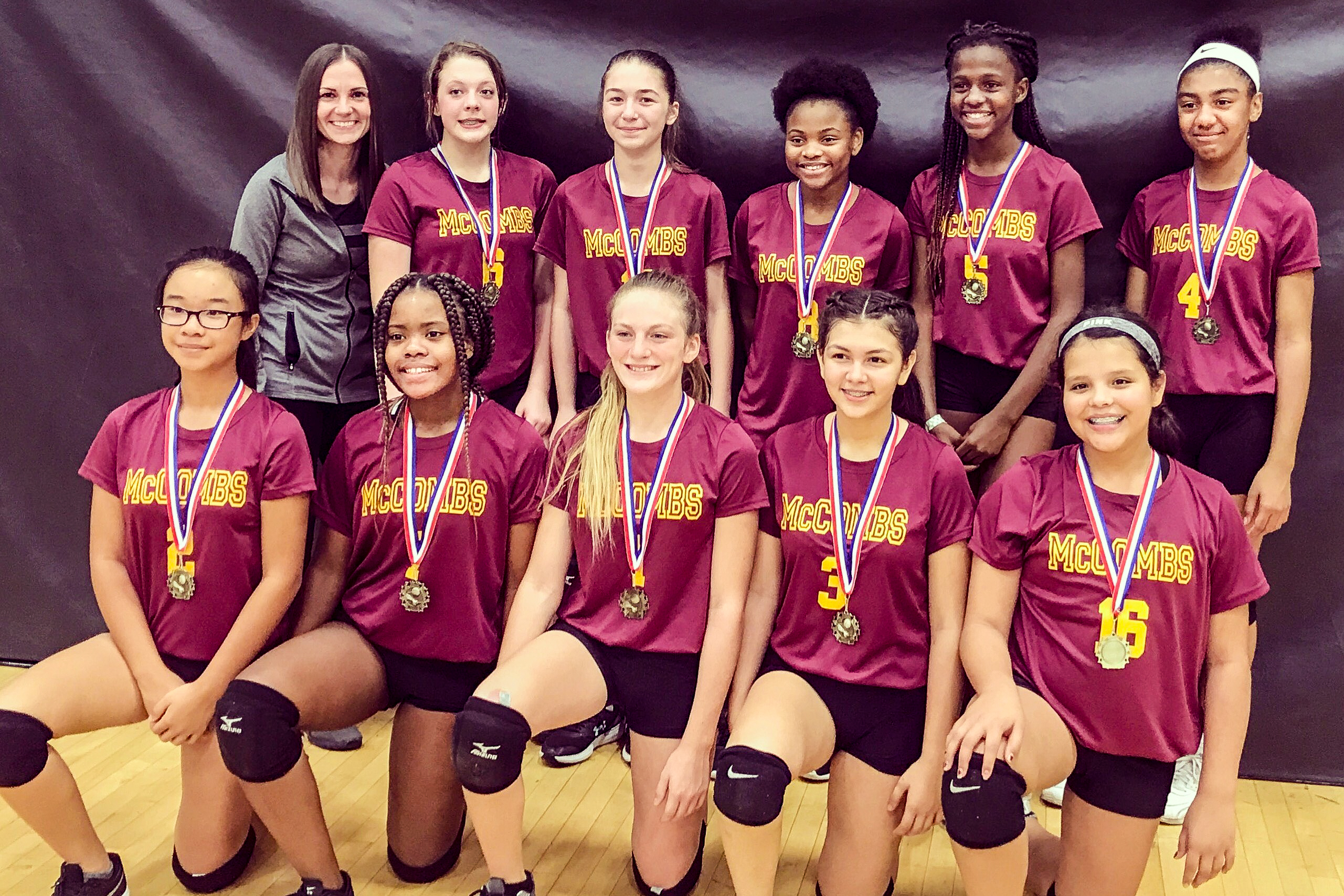Eagles Win City-Wide Volleyball Title