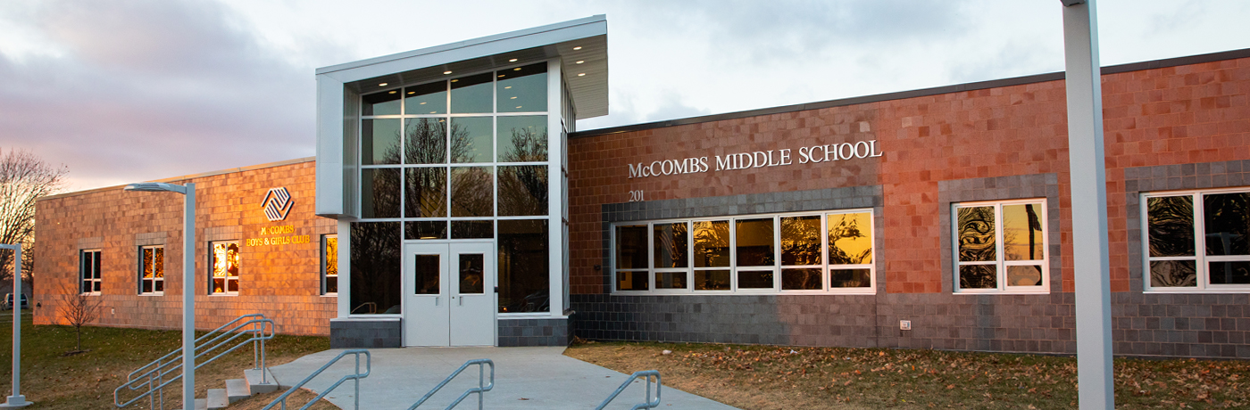 McCombs Middle School Building
